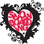 Snowboarding Heart