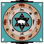 White Buffalo Medicine Wheel