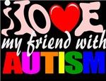 I love my autistic friend