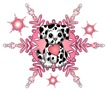 Dalmation Snowflake t-shirts and gifts
