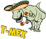 T-Mex T-Rex Mexican Tyrannosaurus Dinosaur