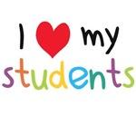 I Heart My Students Teacher Love