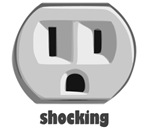 Shocking Wall Outlet