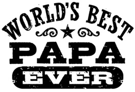 World's Best Papa Ever t-shirts