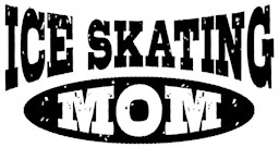 Ice Skating Mom t-shirts