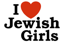 I Love Jewish girls t-shirt