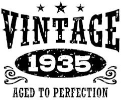 Vintage 1935 t-shirts
