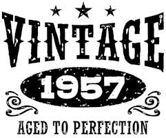 Vintage 1957 t-shirts
