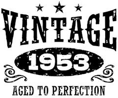 Vintage 1953 t-shirts