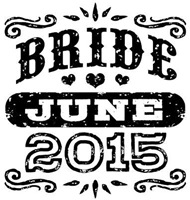 Bride June 2015 t-shirt