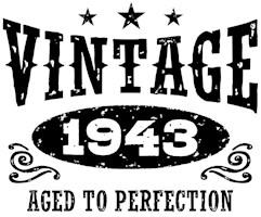 Vintage 1943 t-shirts
