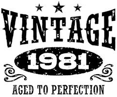 Vintage 1981 t-shirts