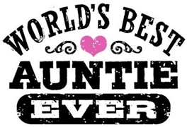 World's Best Auntie Ever t-shirts