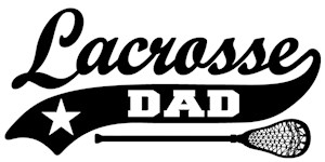 Lacrosse Dad t-shirts