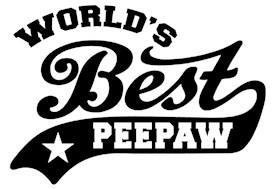 World's Best PeePaw t-shirts