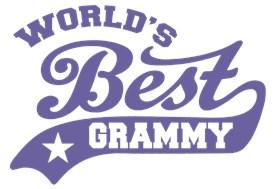 World's Best Grammy t-shirts