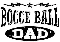 Bocce Ball Dad t-shirt