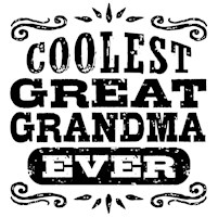 World's Coolest Great Grandma Ever t-shirt