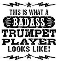 Funny Trumpeter t-shirt