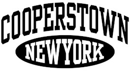 Cooperstown New York t-shirts