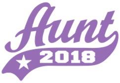 Aunt 2018 t-shirt