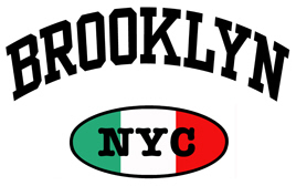 Italian Brooklyn NYC t-shirts