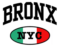 Italian Bronx NYC t-shirts