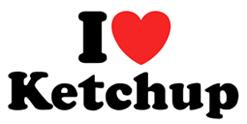I Love Ketchup t-shirt