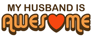 My Husband is Awesome t-shirt