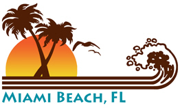 Miami Beach FL t-shirts