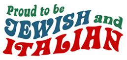 Jewish Italian t-shirt