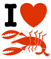 I Love Lobster t-shirts
