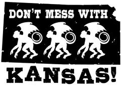 Don't Mess With Kansas t-shirts