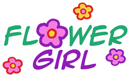 Flower Girl t-shirt