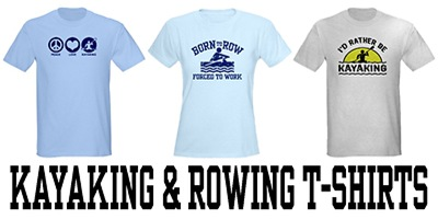 Kayaking & Rowing t-shirts