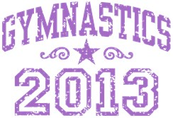 Gymnastics 2013 t-shirt