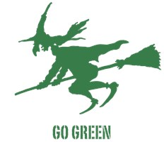 Go Green Wicked Witch