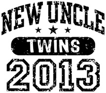 New Uncle 2013 Twins t-shirt