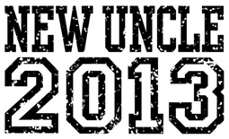 New Uncle 2013 t-shirt