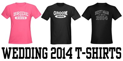 Wedding 2014 t-shirts