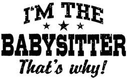 Funny Babysitter t-shirt