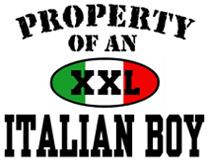 Property of an Italian Boy t-shirt