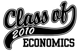 Class of 2010 Economics t-shirts