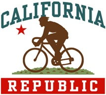 California Cycling Male t-shirts