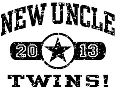 New Uncle Twins 2013 t-shirt