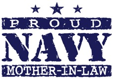Proud Navy Mother In Law t-shirt
