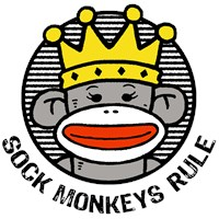 Sock Monkeys Rule t-shirt