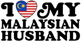 I Love My Malaysian Husband t-shirts