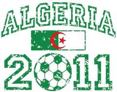 Algeria Soccer 2011 t-shirts