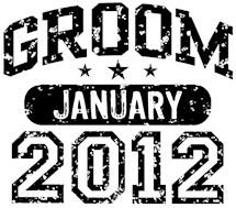 Groom January 2012 t-shirts